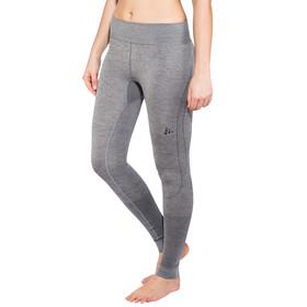 Craft W's Fuseknit Comfort Pants Dk Grey Melange